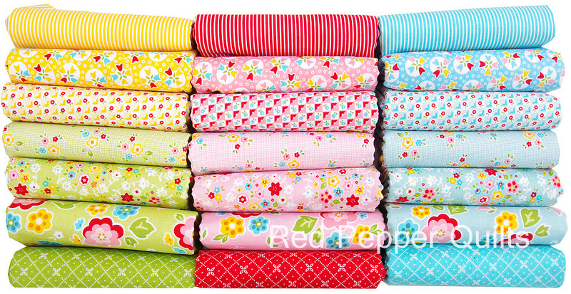Bloom and Bliss by Nadra Ridgeway for Riley Blake Designs | Red Pepper Quilts