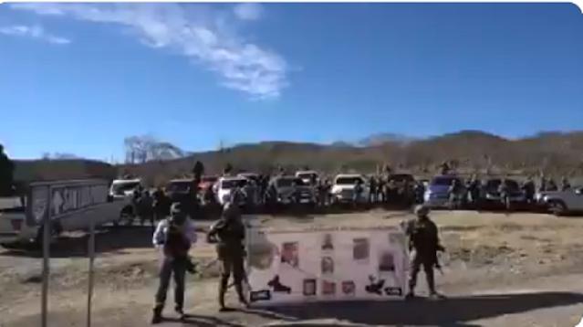 Video: Llegamos para quedarnos, o se alinean o se mueren El CJNG
