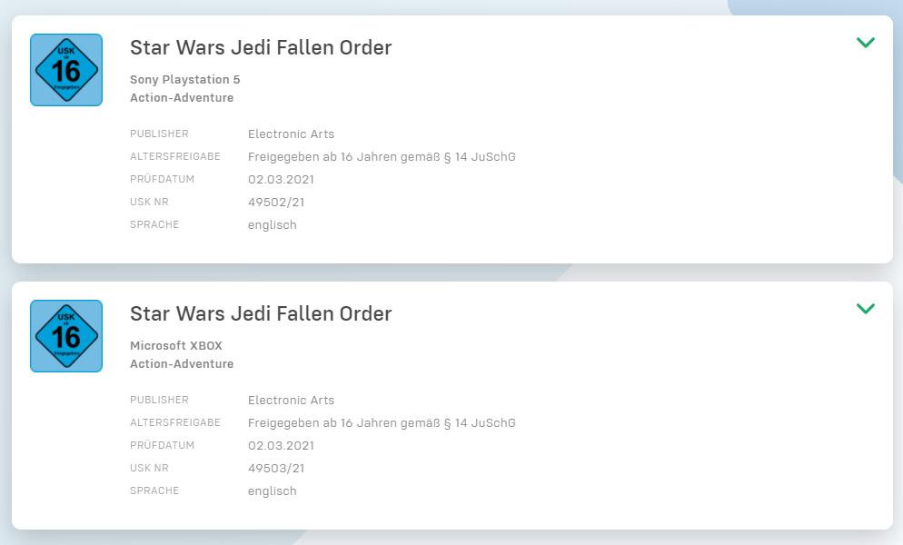 Star Wars Jedi: Fallen Order xbox