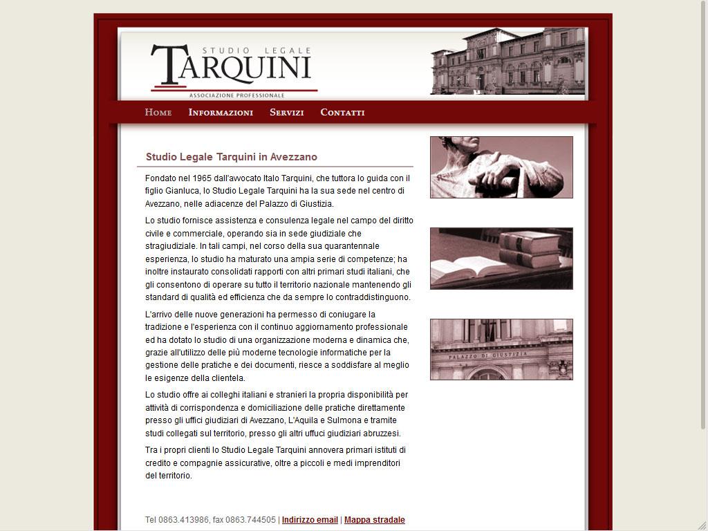 Tarquini - Studio Avvocato Avezzano