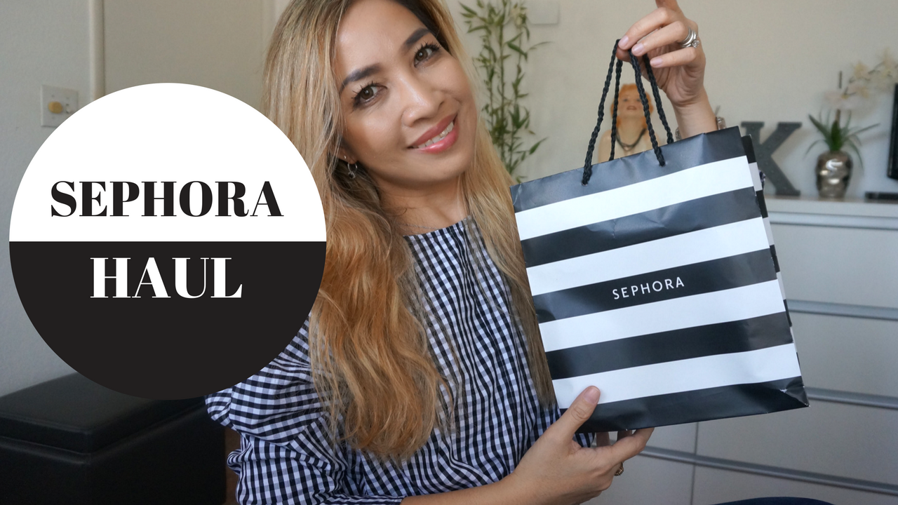 sephora makeup haul, sephora beauty haul