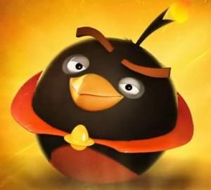Angry Bird Space cute cartoon wallpaper
