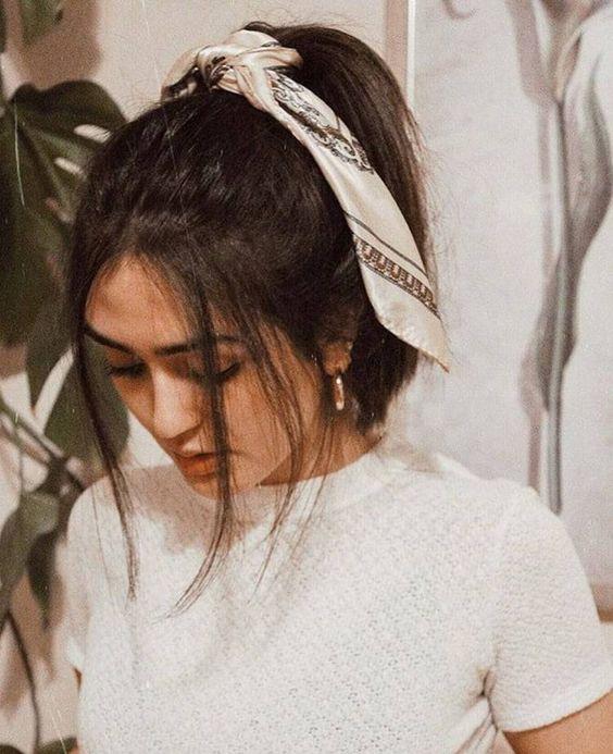 Como usar bandana no cabelo
