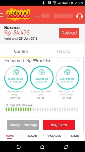 Cara Cek Pulsa Indosat IM3 Ooredoo - Kode Paket