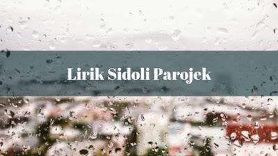 Lirik Sidoli ParGojek dan Artinya