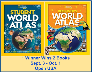 National Geographic STUDENT WORLD ATLAS & BEGINNERS WORLD ATLAS