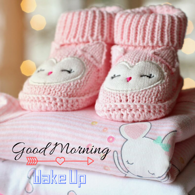 Good Morning Images With Baby shoes
