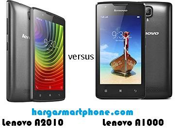 Harga Dan Perbedaan Lenovo A2010 Dengan A1000