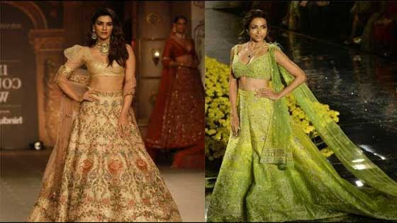 Kriti Sanon and Malaika Arora set the ramp on fire