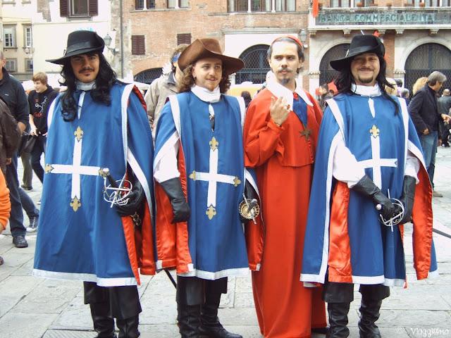 Alcuni cosplayers durante Lucca Comics