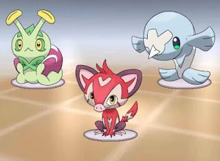 Pokemon Opalo para Android Iniciales Starters Pokemon