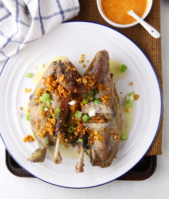 Resep Ayam Pek Cam Kee JTT