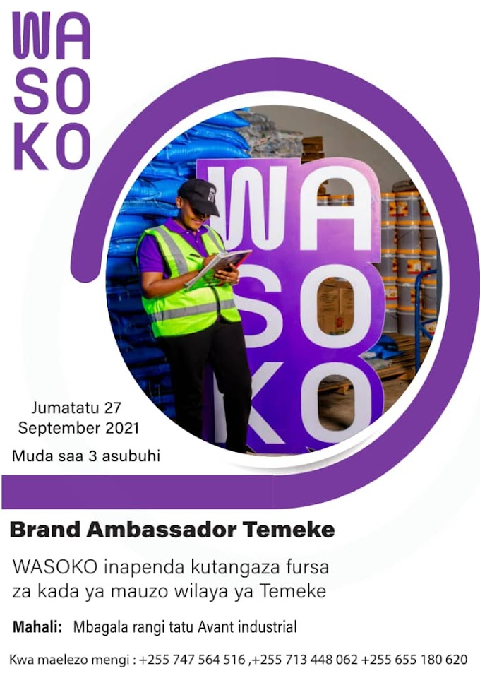 Job Opportunity at Sokowatch, Brand Ambassador