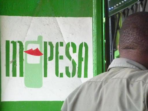 MPESA shop in Kenya photo