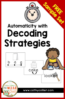 Automaticity is the true goal of using decoding strategies. Some students need targeted practice to create automaticity. Here is a plan with 3 decoding strategies.