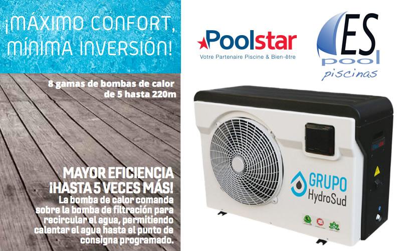 Compra la bomba de calor premium dreamline 70kw de PoolStar en tiendas Espool Piscinas