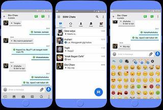 BBM Like iOS Versi 3.2.0.6 Apk