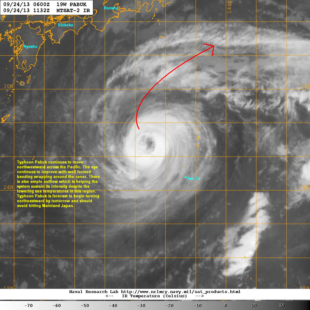latest satellite image shows the eye of pabuk continues to improve by the hour with good convection and an eyewall that continues to intensify