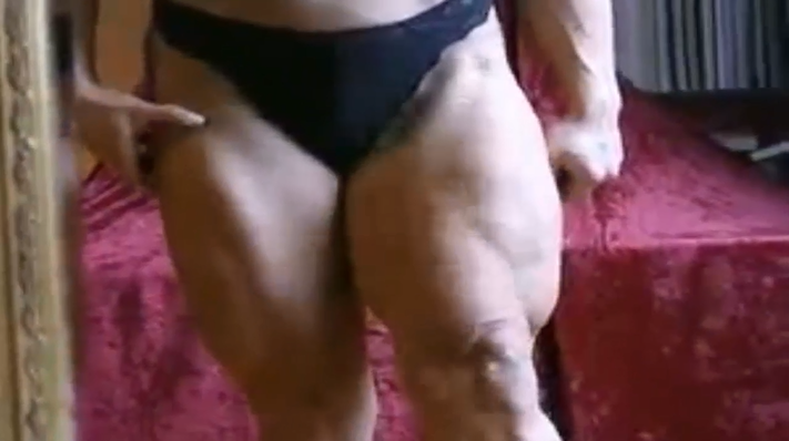 Clip Female Bodybuilder, self discipline, willpower, and a healthy dose of sweat