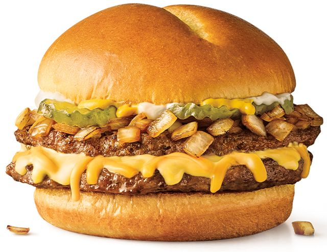 Sonic Debuts New Jr Double Stack Cheeseburger For 2 99 Brand Eating