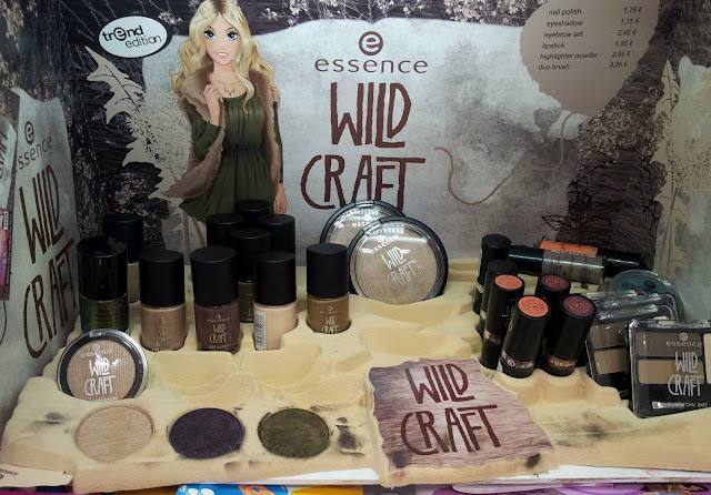 Essence wild craft TE Aufsteller