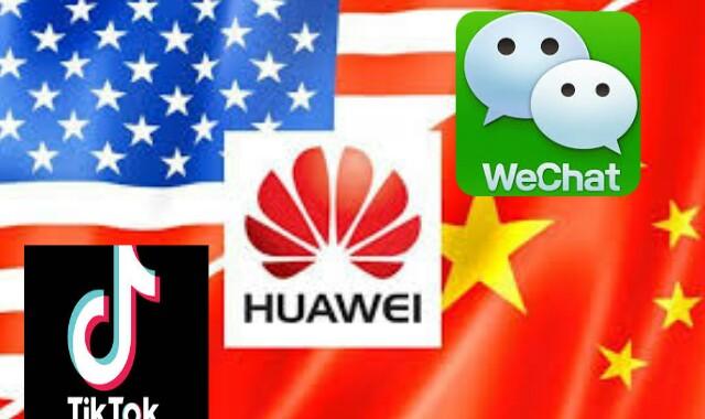 الخلافات بين أمريكا والصين والحرب التقنية بينهما
