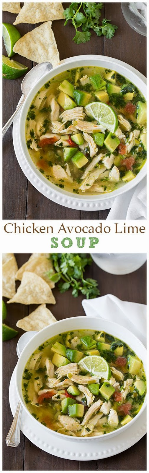 Chicken Avocado Lime Soup | Food drink