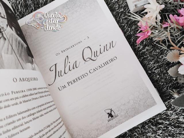 Resenha: Um perfeito Cavalheiro - Julia Quinn