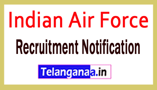 Indian Air Force IAF Recruitment