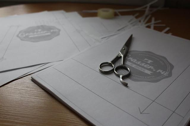 О работе с выкройками Grasser Отзыв Блог Вся палитра впечатлений
