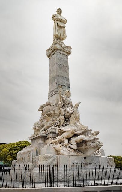 Monumento a Cristobal Colón en Buenos Aires