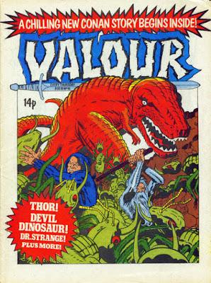 Valour #16, Devil Dinosaur