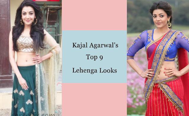 Kajal Agarwal's Top 9 Lehenga Looks