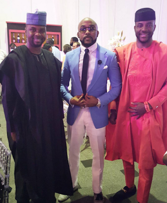 banky w Tosyn Bucknor wedding.