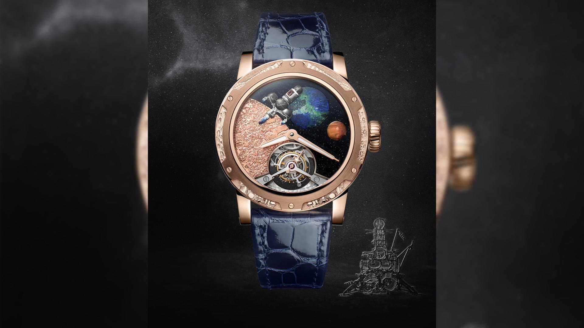 ملاحة الفضاء Moon Race تجسدها لويس موانيه بإصدارات ثمينة