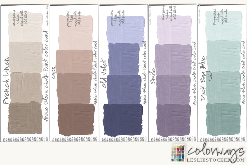 New Post On Colorways Lesliestocker Head Over To See Who Inspired This Annie Sloan Chalk Paint Color Palette