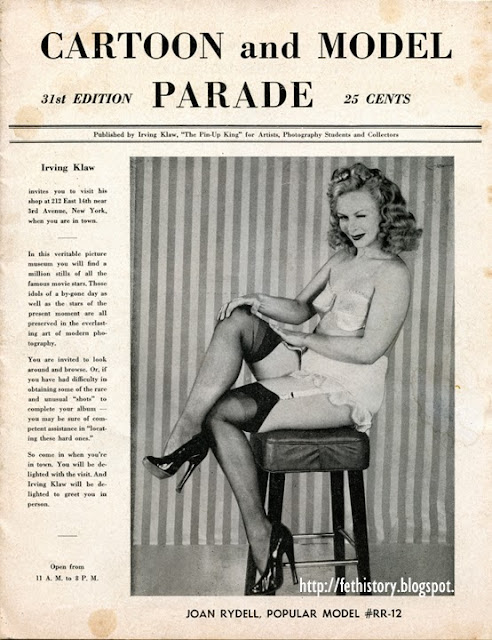Irving Klaw's Cartoon and Model Parade, 31st Edition 1950
