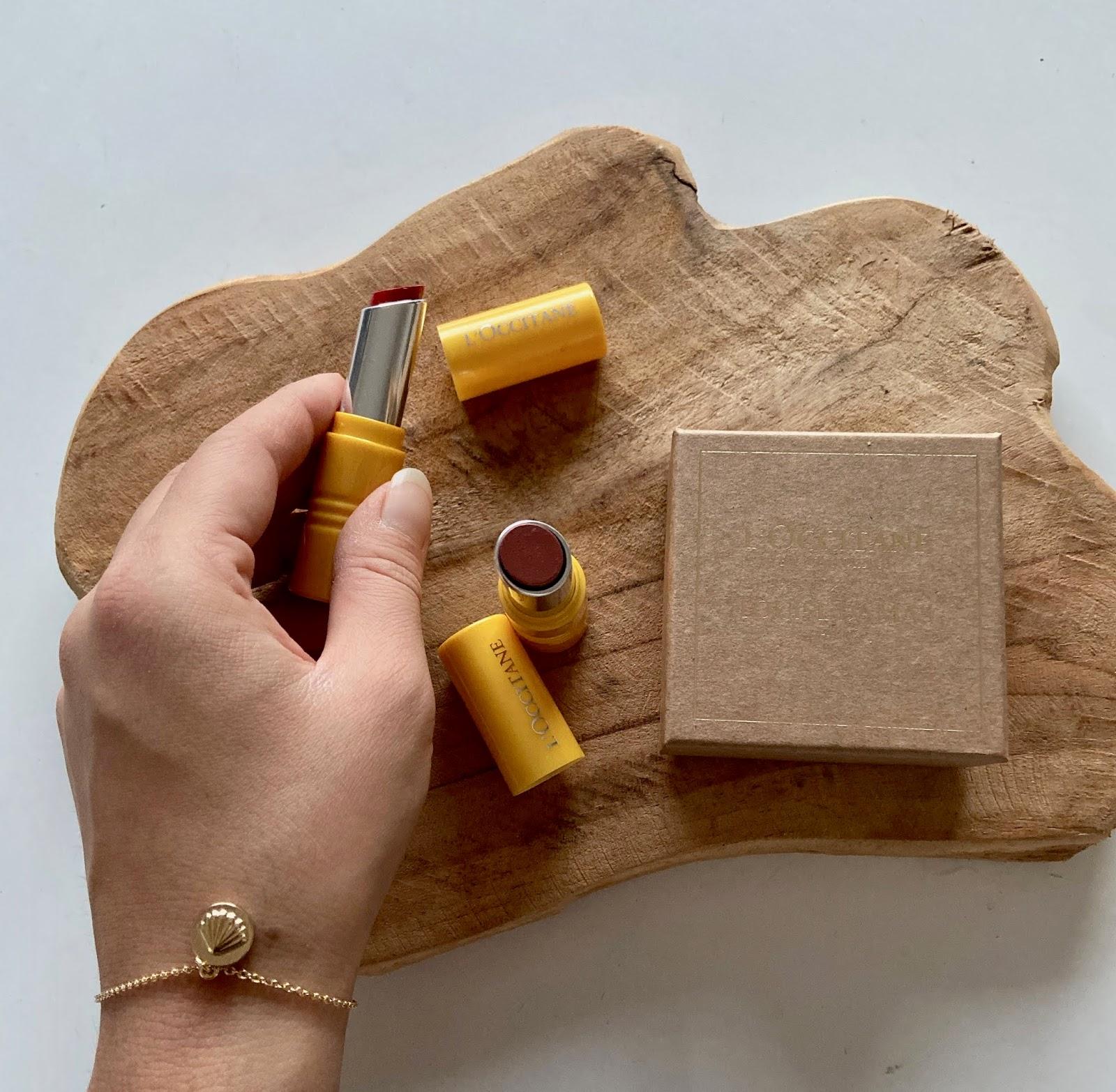 lipstick loccitane en provence