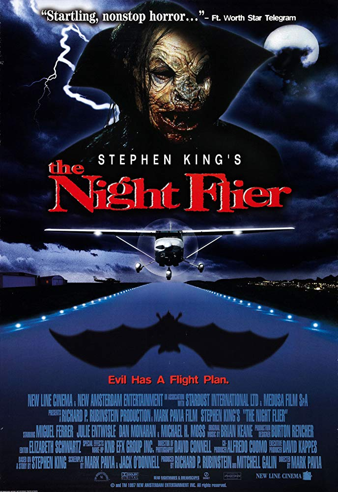 """Movie Review: """"The Night Flier"""" (1997)"""