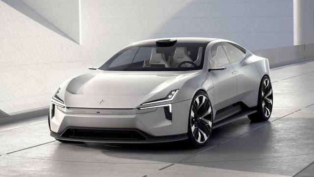 mobil listrik konsep Polester Precept