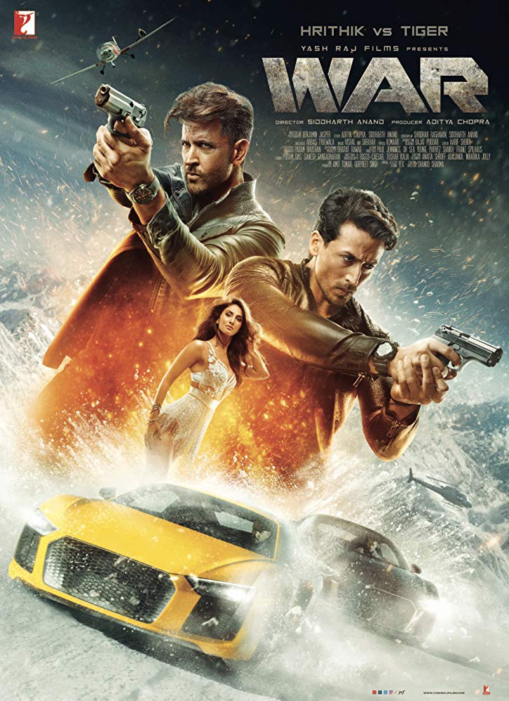 War (2019) Hindi Full Movie Download Pre-DvDRip – 480P | 720P – x264 – 450MB | 700MB – Download & Watch Online