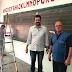 Vereadores Lucas Comin e Bariotto visitam obras da EMEI João Ribaldo