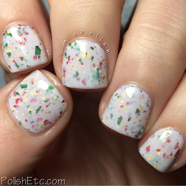 Nine Zero Lacquer - Holiday 2016 Collection - McPolish - Sugar Cookie