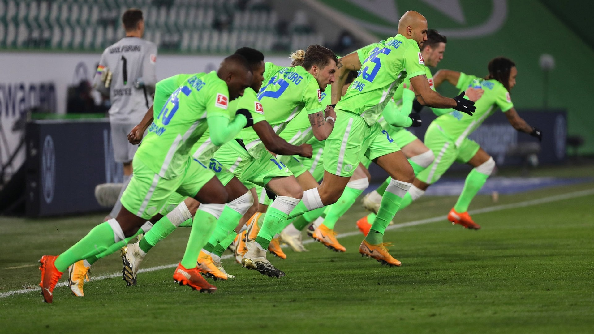 Wolfsburg's unbeaten run ended with defeat to the champions last Wednesday