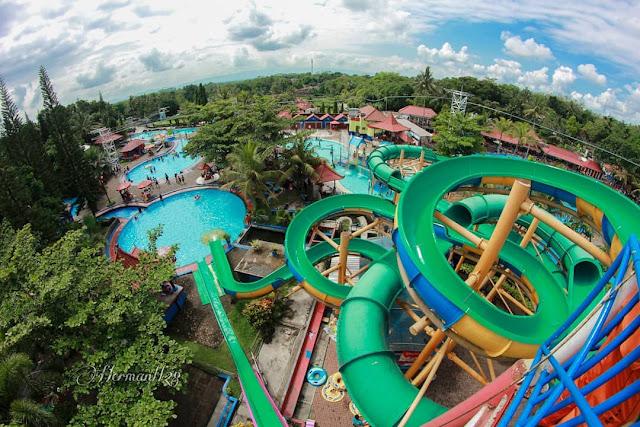 Harga Tiket Masuk Owabong Waterpark Purbalingga Jawa Tengah