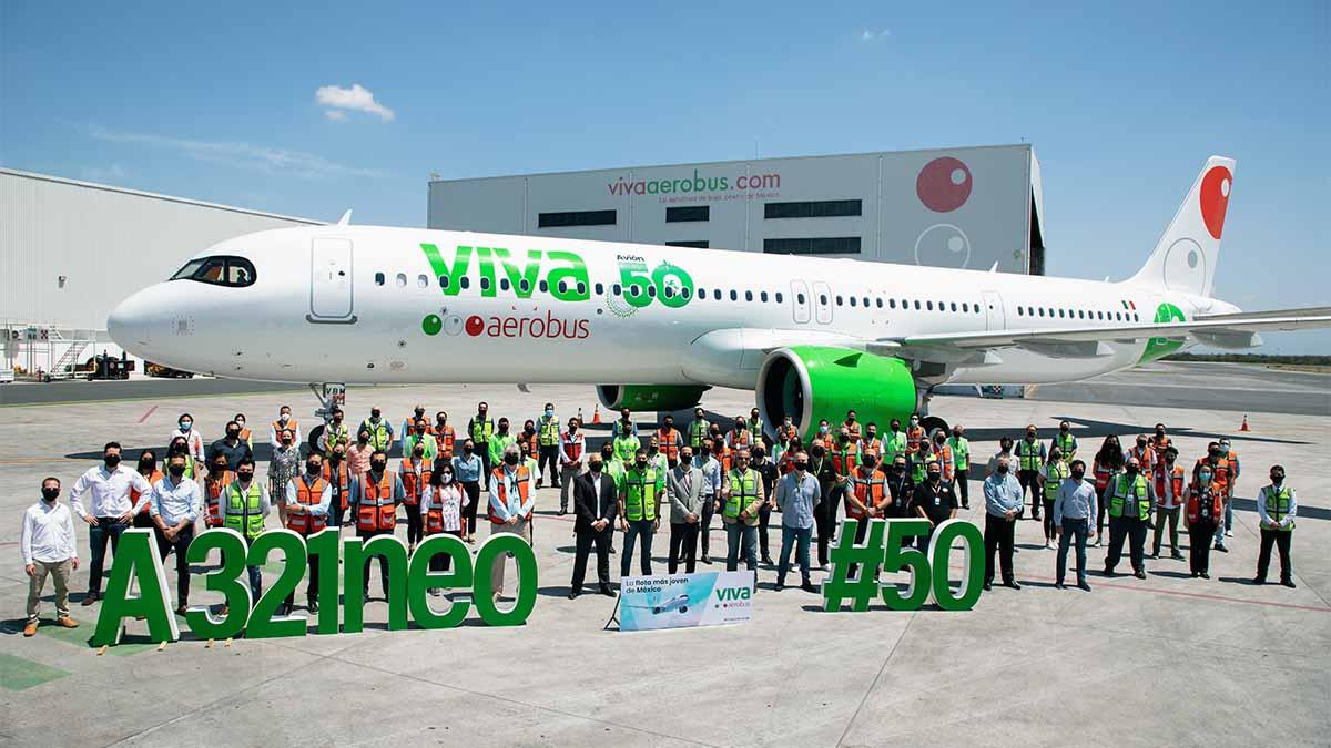 VIVA AEROBUS AVIÓN 50 A321NEO 01