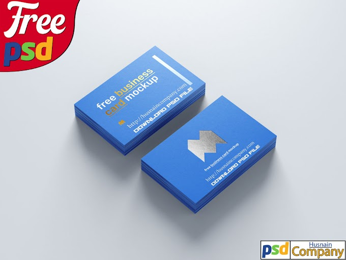 Download Free Business Card PSD Mockup #4