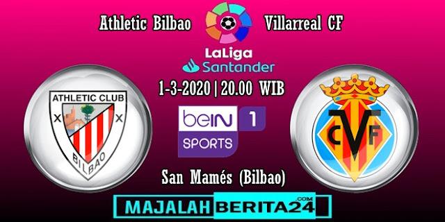 Prediksi Athletic Bilbao vs Villarreal