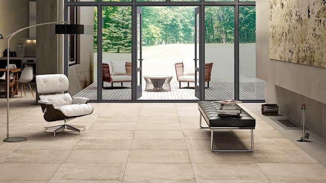 Tiles for floor design Aster collection- Explore the invisible