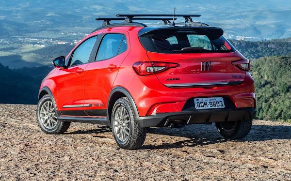 Fiat Argo - carro mais vendido do Brasil no começo de maio